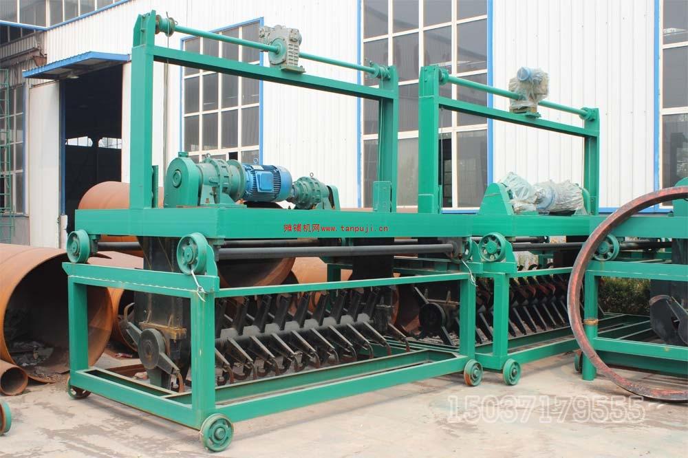 轨道翻抛机/槽式翻堆机/有机肥堆肥发酵翻抛机